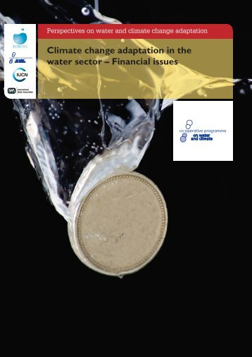 Climate change adaptation in the water sector – Financial issues