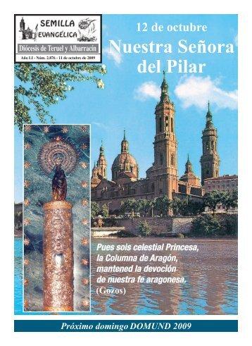 Nuestra Señora del Pilar - Diócesis de Teruel y Albarracín