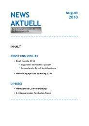 Newsletter der Bundesinnung - Wirtschaftskammer Österreich