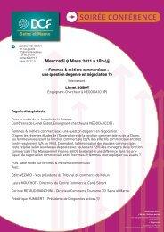 Mercredi 9 Mars 2011 à 18h45 - DCF