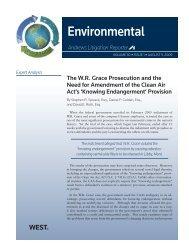 Environmental - Bradley Arant Boult Cummings LLP