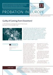 CEP Bulletin June 2002 - CEP, the European Organisation for ...