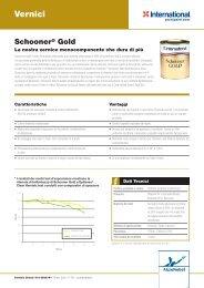 Schooner Gold - Scheda Informativa - Yachtpaint.com