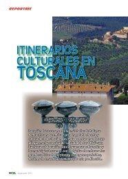 Itinerarios Culturales en Toscana - TAT Revista