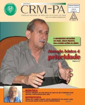 prioridade - Conselho Regional de Medicina do Estado do Pará