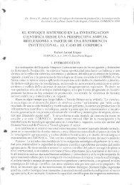 el enfoque sistemico en la investigacion cientifica desde ... - Corpoica