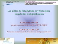 trajectoires et pistes d'intervention (PDF) - CAMH Knowledge ...