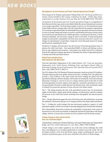 NEW BOOKS - Leisa India