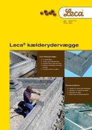 Leca® kælderydervægge - Weber