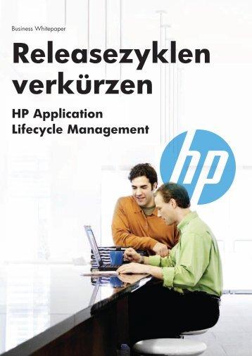 Release-Zyklen verkürzen mit HP Application Lifecycle Management