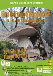 Fiera del Fungo di Borgotaro IGP - Agriturismo e bed and breakfast ...