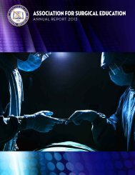 Association for surgical education