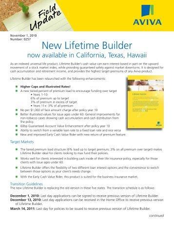 Lifetime III approvals.indd - ECA Marketing