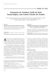 Tratamento de Trombose Tardia de Stent Farmacológico com ...