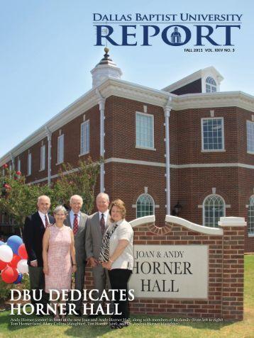 Joan and Andy Horner Hall - Dallas Baptist University