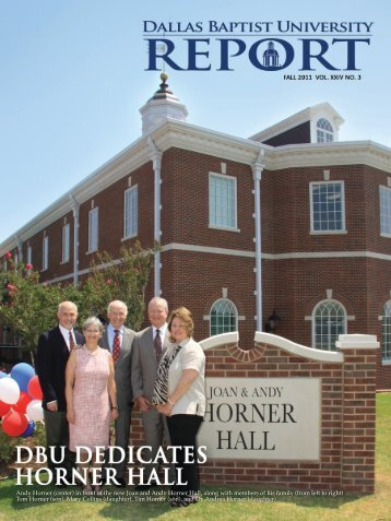 Joan and Andy Horner Hall - Dallas Baptist University