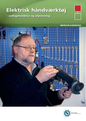 Hent Elektrisk håndværktøj - Industriens Branchearbejdsmiljøråd