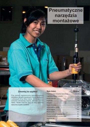 Pneumatyczne narzędzia montażowe