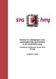 Verslag - STG / Health Management Forum