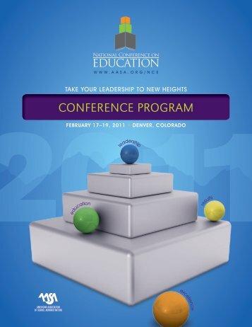 conference program - American Association of School Administrators