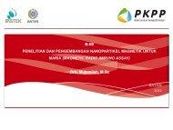 Presentasi Evaluasi B.9 - PKPP