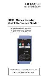 X200 - Dart Controls