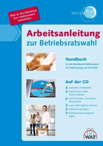 BR-Wahl Handbuch - WAF