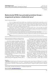 Bakteriocini BMK kao prirodni protektori hrane - inmesbgd.com