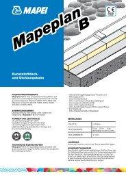 Kunststoffdach- und Dichtungsbahn - Mapei