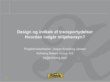 Design og indkøb af transportydelser – hvordan indgår miljøhensyn?