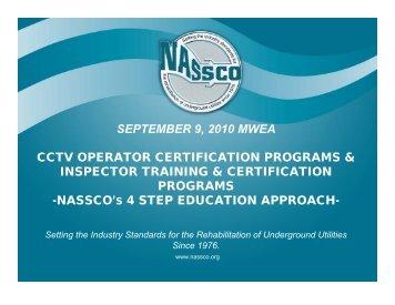 nassco's - Michigan Water Environment Association