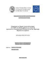 Δξομοίυζη ηος Μικπού Ανισνεςηή Ιονηιζμού ηος CERN για πιθανή ...