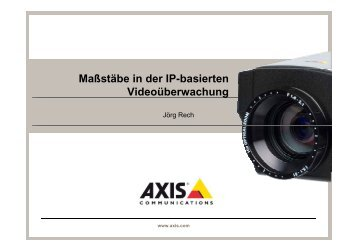 AXIS - Security-Forum