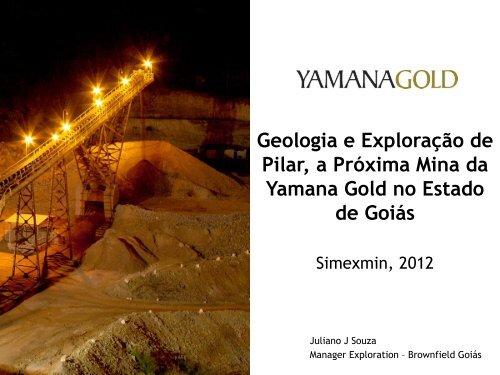 Geologia e Exploração de Pilar, a Próxima Mina da ... - ADIMB