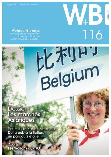 Revue Wallonie-Bruxelles n°116 juin 2012 - WBI