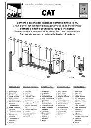 Barriera a catena per l'accesso carrabile fino a 16 m ... - Antriebe 24