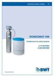 RONDOMAT HW - BWT Polska