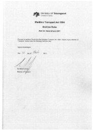 Amendment to Part 34, 2011/12 - Maritime New Zealand