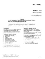 Fluke 705 - PCE Instruments