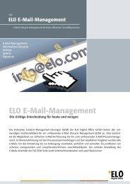 ELO E-Mail-Management - Fluctus IT GmbH