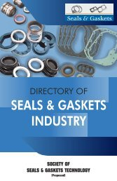 SEALS & GASKETS INDUSTRY