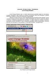 Laborator_06 Idrisi Andes - Teledetecţie Land Change Modeler