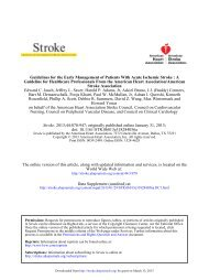 Nursing, Council on Peripheral Vascular Disease, and ... - marchioli
