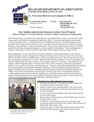 Four families inducted into Delaware Century Farm Program