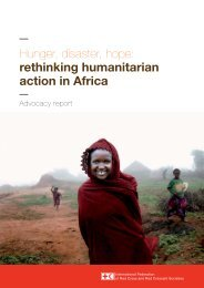 Hunger, disaster, hope: rethinking humanitarian action in Africa