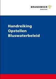 B. Handreiking Opstellen bluswaterbeleid.pdf - BrandweerKennisNet