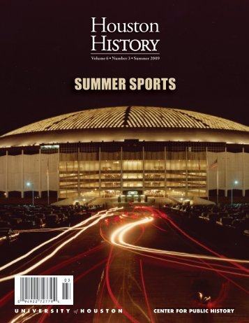 Download PDF - Houston History Magazine