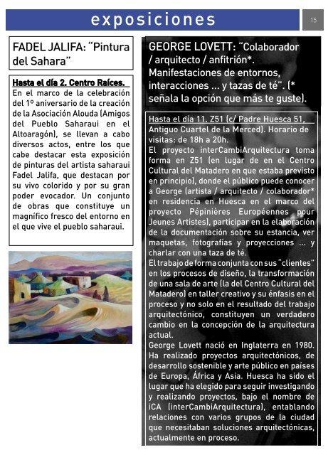 Radar, marzo 2007 - Ayuntamiento de Huesca