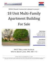 18 Unit Multi-Family Apartment Building - Property Line