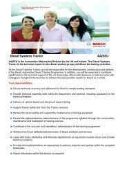 Diesel Systems Trainer AA/SEU - Bosch-Career